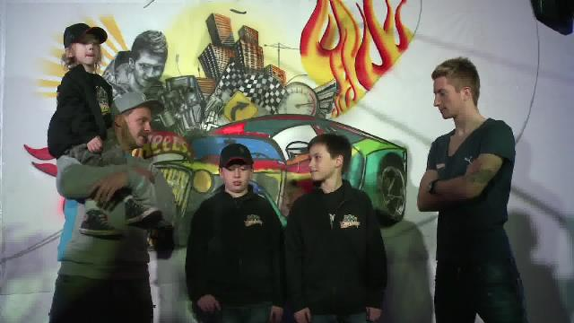 Video und Footagematerial: Marco Reus als Graffiti Artist für Hot Wheels