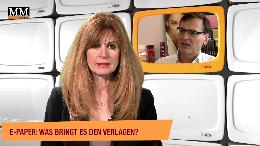 E-Paper: Was bringt es den Verlagen? (VIDEO)