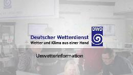 Deutscher Wetterdienst (DWD) warnt vor Unwettergefahr durch schwere Gewitter / Erste Hitzewelle 2014 wird durch Blitz und Donner mit Unwettergefahr beendet (VIDEO)