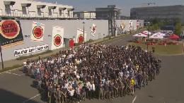 Das längste und größte Markengraffiti der Welt / Lucky Strike - Große Geschichten brauchen große Bilder (VIDEO)