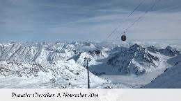Ein halber Meter Neuschnee in Tirol � Schneebericht vom Pitztaler Gletscher - ANHÄNGE