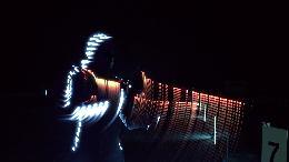 Biathlon in LED: E.ON setzt Wintersport neu in Szene / Film visualisiert Energieverbrauch eines Biathleten mit neuartigen Bildern (VIDEO)