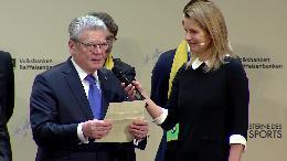"""Bundespräsident überreicht """"Großen Stern des Sports"""" in Gold an Verein aus Bayern (VIDEO)"""