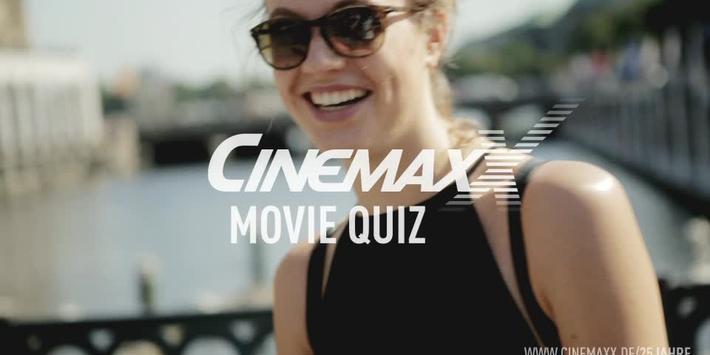CinemaxX wird 25 Jahre und sagt DANKE! / 25 Jahre-Dauerkarte beim CinemaxX Movie Quiz gewinnen / 25 Tage geballtes Kinovergnügen für 25 Euro