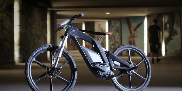 Highend-Sportgerät - das Audi e-bike Wörthersee