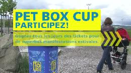 Personnalit&eacute;s suisses en qu&ecirc;te de PET BOX (VIDEO)