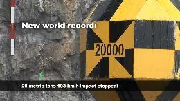 Der Klimawandel verschärft die Steinschlag-Gefahr (VIDEO)