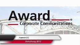 Die Schweizer Kommunikationsbranche hat fünf neue Gewinner - ausgezeichnet am diesjährigen Award Corporate Communications